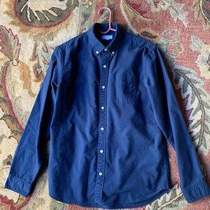 Gap Navy Button Down Shirt